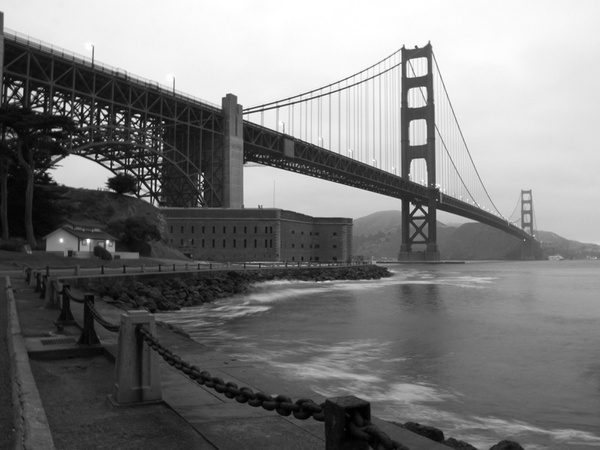 goldengate_bw_800x600 by Sergio