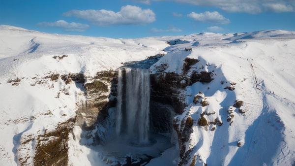 Skogafoss in Winter, Iceland - Travel - Marcs Photo