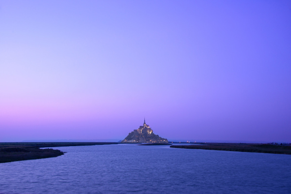 Mont St Michel at Dusk, France - Travel - Marcs Photo