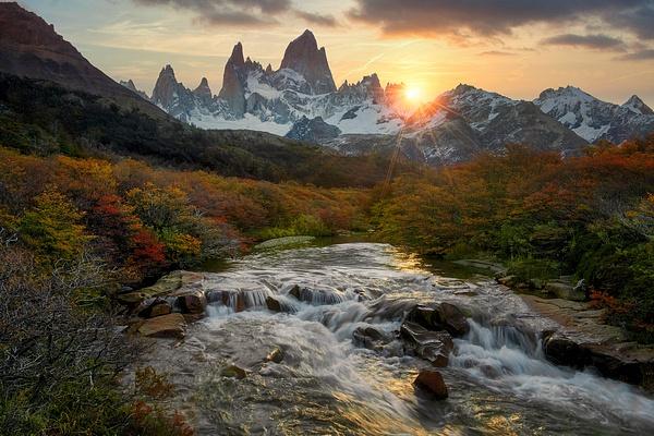 Patagonia-FitzRoy-fallcolors - Landscape -  Marcs Photo