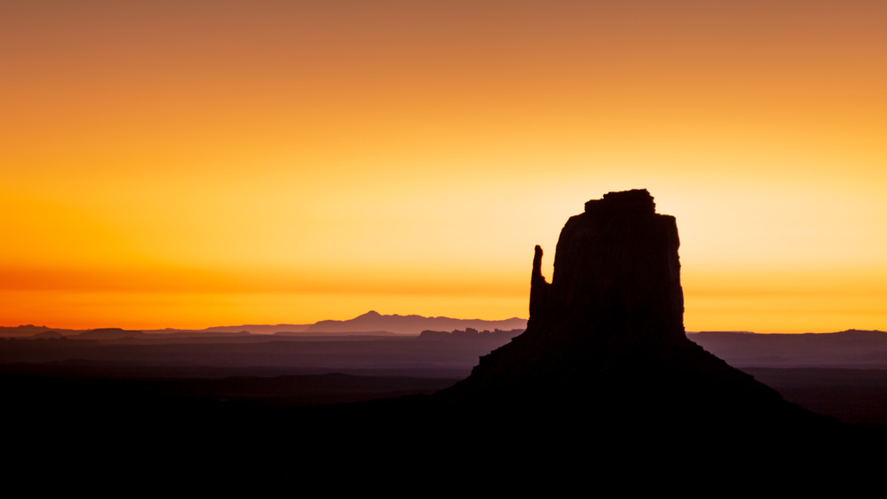 Morning Monument Valley