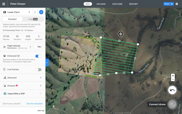 Drone Mapping by Brent Mail
