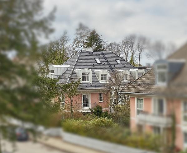 Dach renoviiert - Dachrenovierung - Desmond Stagg Photography