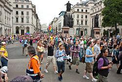 London: gay parade july 2011