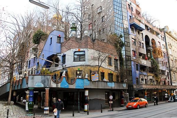 Vienna: Hundertwasser Village by Sergey Kokovenko