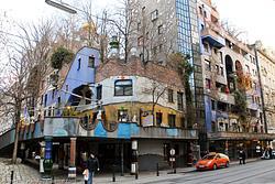 Vienna: Hundertwasser Village