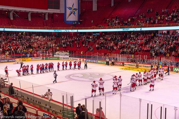 Stockholm: hockey by Sergey Kokovenko