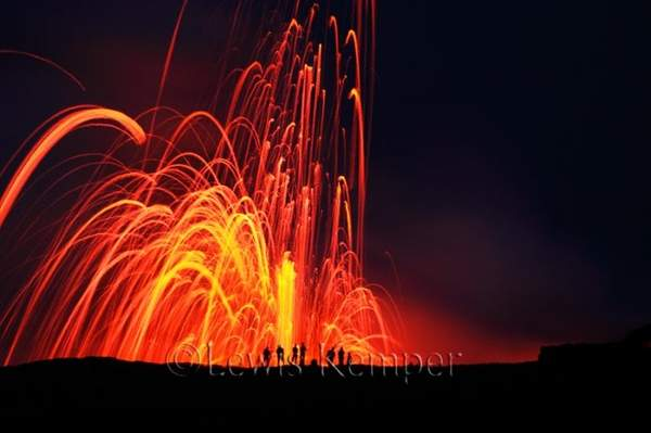 Lava Fountain #1