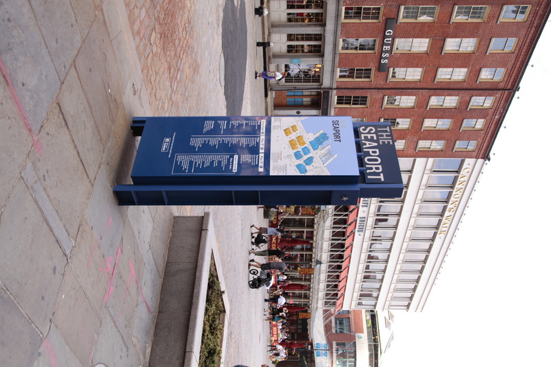 South Street Seaport Entrance