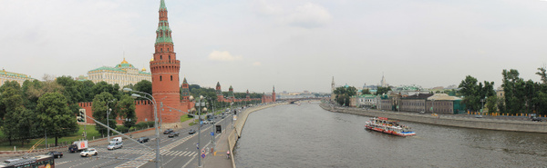 Moscow panoramic by DarthWayder by DarthWayder