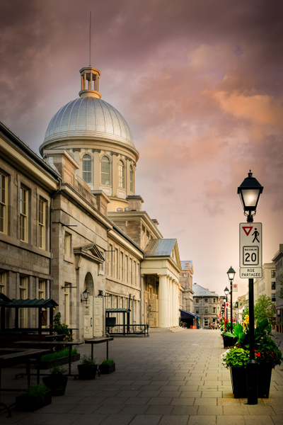 The Streets of Old Town Montreal by...