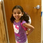 Maya's 1st Day Preschool