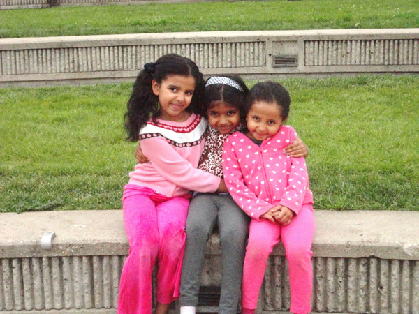 Jahnavi, Maya & Avani by mommy19