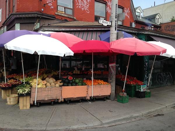 Kensington Fruit Market by ZincProduction