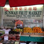 Kensington Market Fruit Markets