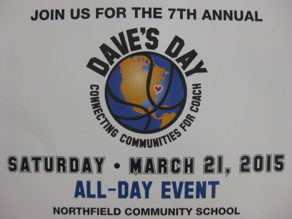Dave's Day 2015 by Northfield Community School
