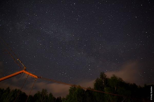 The starry sky by VitaliyDyadchev
