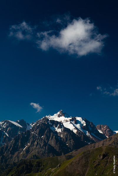 The peak Pionersky by VitaliyDyadchev