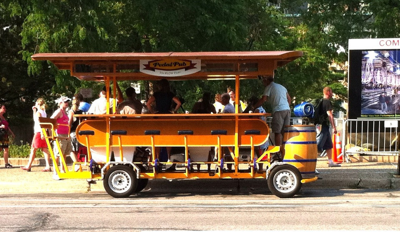 Pedal Pub At Minnesota