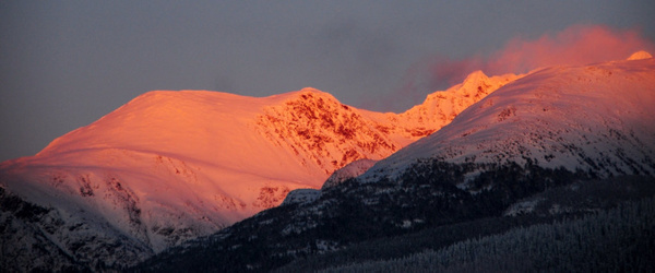 Whistler-Blackcomb Mountains by Marv Ferg