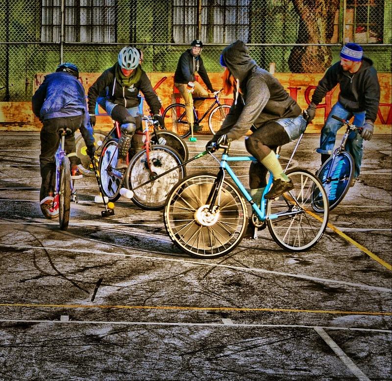 December Bike Polo