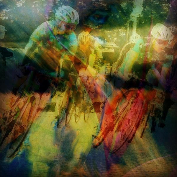 Cerebral Cycling by Marv Ferg