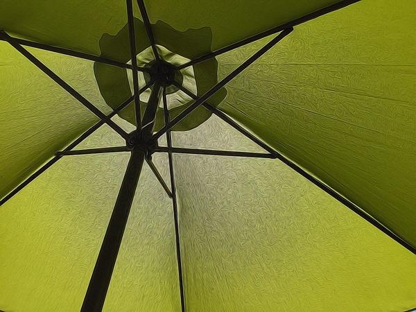 Umbrella Glo by Marv Ferg