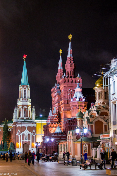 Moscow by Ivan Piyanin