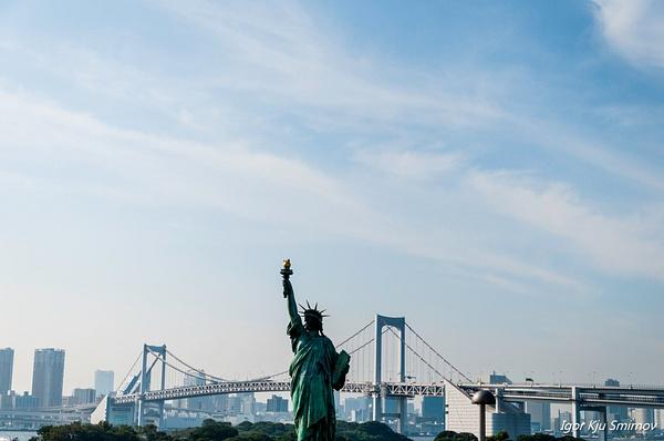 Tokyo Statue of Liberty by IgorKjuSmirnov