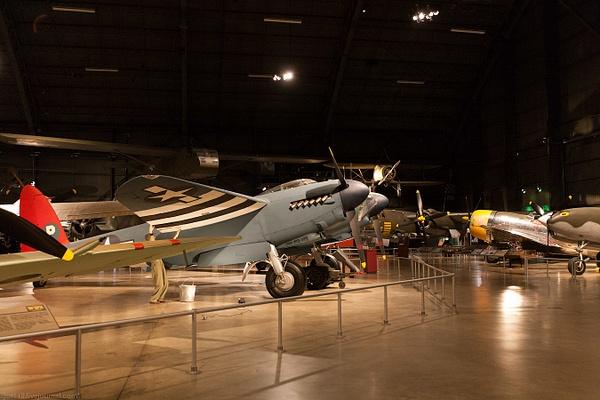 Музей в Дейтон: de Havilland DH.98 Mosquito...