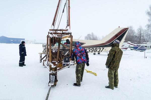 Погрузка самолета Викинг. by...