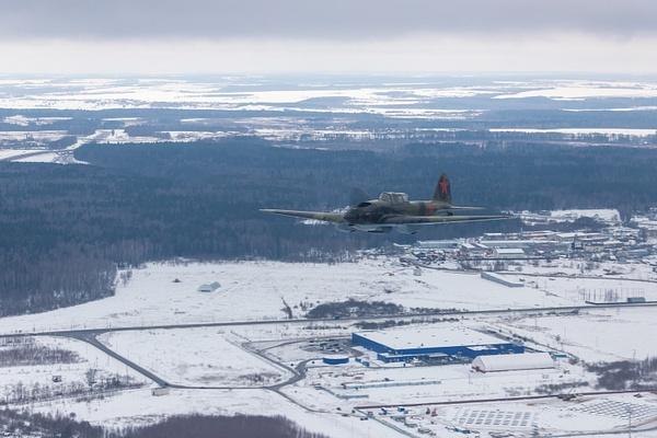 Перегон Ил-2 в феврале 2019 года by...