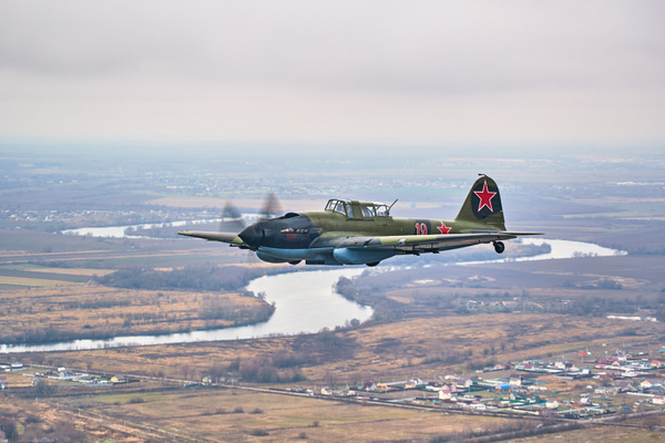 Ил-2 в Самаре от БЛ Осетинского...