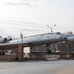 Памятник Ту-22 в Энгельсе