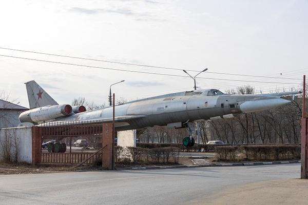 Памятник Ту-22 в Энгельсе by...