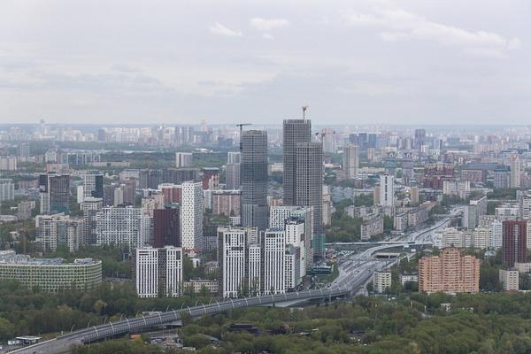 Москва с воздуха by IgorKolokolov