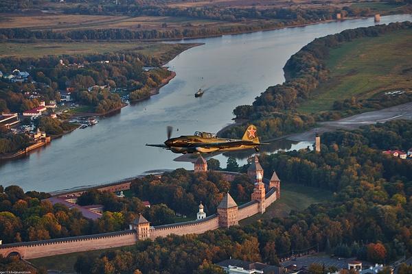 Ил-2 над Новгородом от БЛ by...