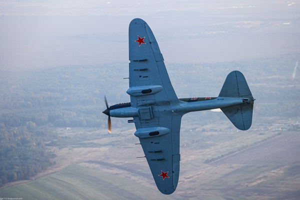 Ил-2 над Новгородом by IgorKolokolov