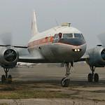 Съемки фильма с Ил-14 ноябрь 2008 года