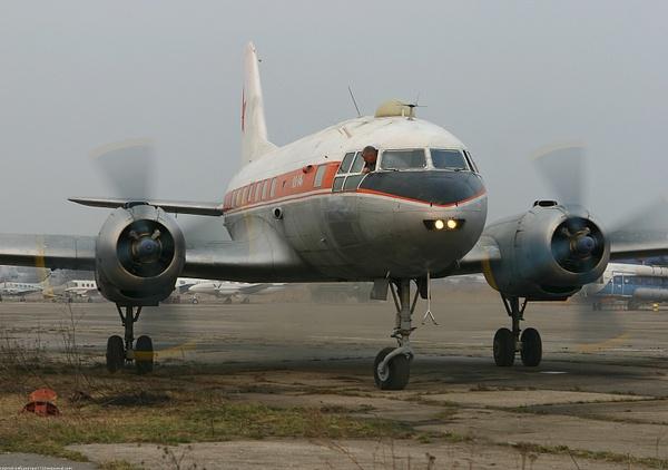 Съемки фильма с Ил-14 ноябрь 2008...