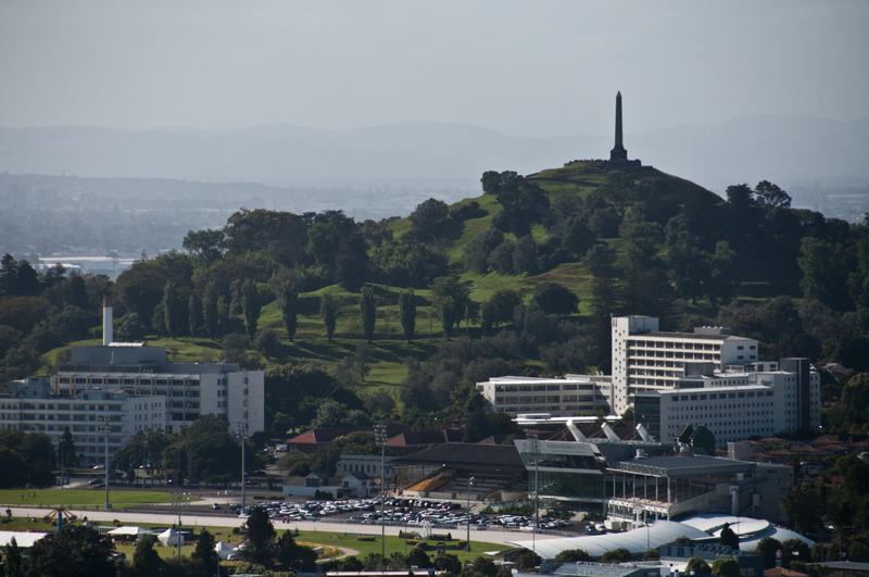 One Tree Hill and Alexandra Park in the distance
