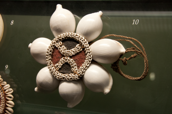 Beautiful bead work at the Auckland Museuem by Willis...