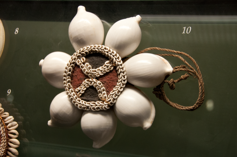 Beautiful bead work at the Auckland Museuem