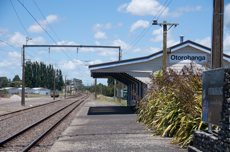 We took a coach to Otorohanga, where we lunched on delicious fish and chips