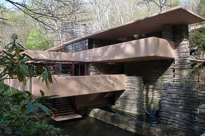 2012Apr & 2013May Falling Water - Frank Lloyd Wright