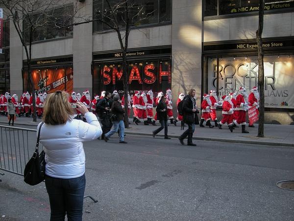 Santa's army by Willis Chung