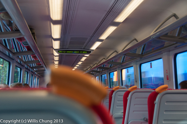 Travelling in extreme comfort by Willis Chung