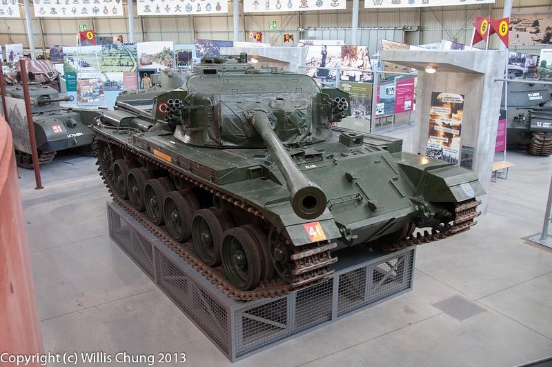 The Centurion Crocodile flamethrowing tank from WW II
