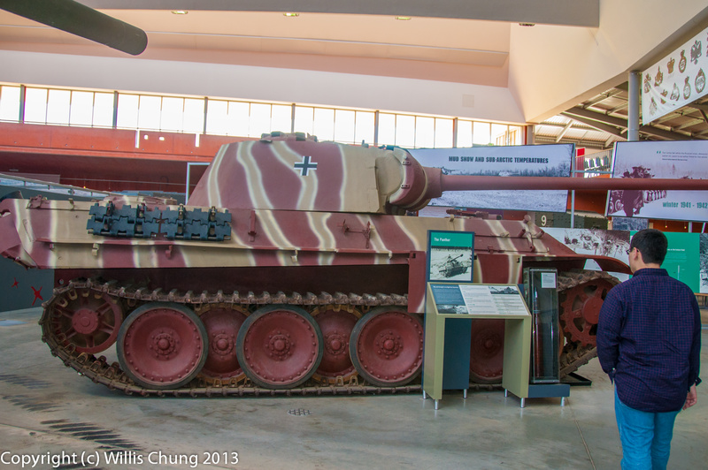 A German Panther from WW II