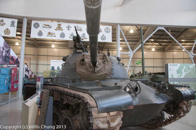 US M48 Patton from the Cold War era